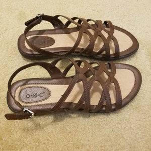 b.o.c. comfort sandals barely worn sz 8